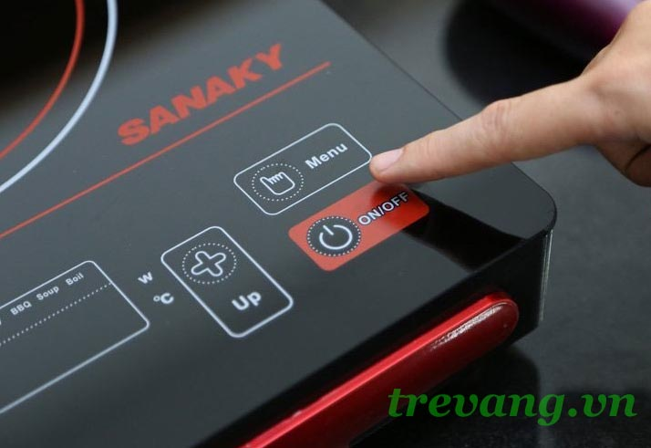 Bếp điện hồng ngoại Sanaky AT-2101 HG tăng giảm nhiệt độ
