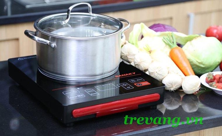 Bếp điện hồng ngoại Sanaky AT-2101 HG dùng được nhiều nồi