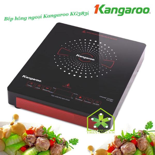Bếp hồng ngoại đơn Kangaroo KG383i cho những món ăn ngon