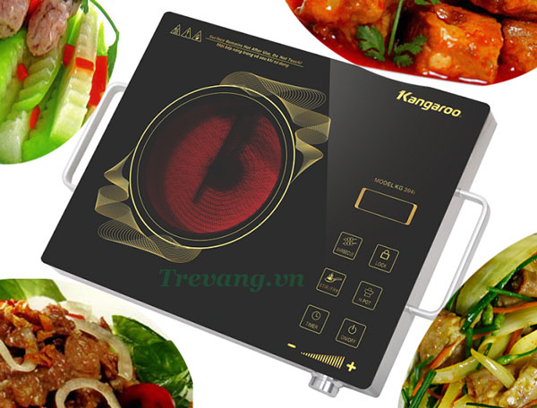 Đa chức năng nấu Bếp hồng ngoại Kangaroo KG394i
