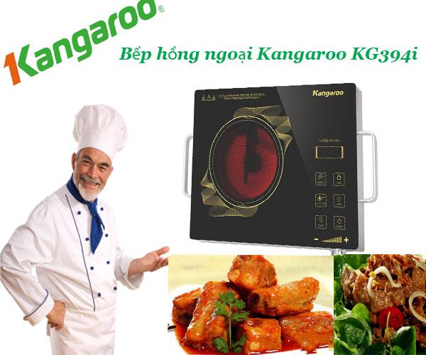 Sự lựa chọn hoàn hảo Bếp hồng ngoại Kangaroo KG394i