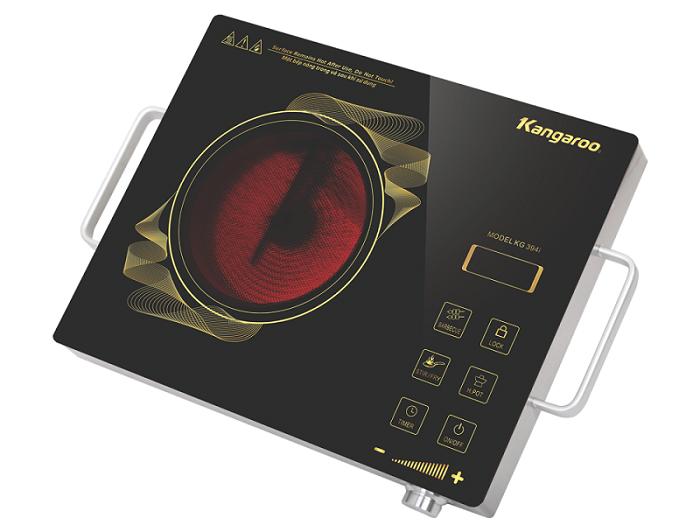 Bếp hồng ngoại Kangaroo KG394i phím cảm ứng nhạy bén