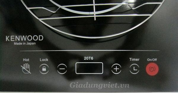 Bếp hồng ngoại Kenwood 22T5 phím cảm ứng linh hoạt