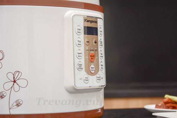 Bộ chỉnh nhiệt Nồi áp suất điện Kangaroo KG138