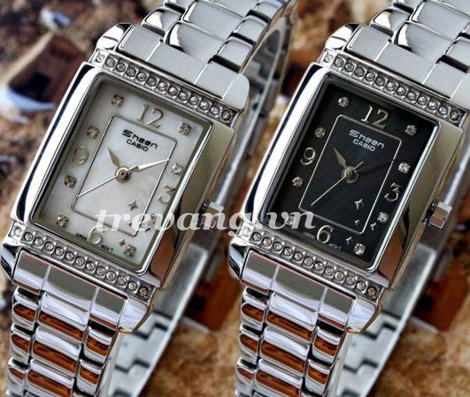 Bộ đôi Đồng hồ nữ Casio Sheen SHN-4016D-1A và 7A