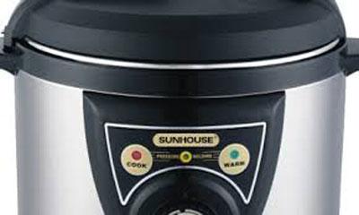 Các chế độ nấu Nồi áp suất điện Sunhouse SHD1650