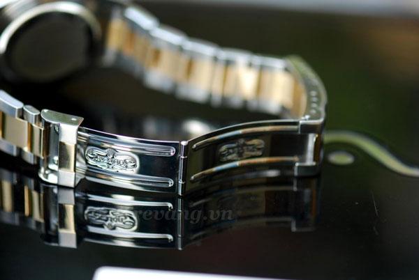 Đồng hồ Rolex nam R.1000 chốt gập chắc chắn