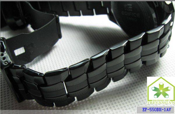 Dây đeo thoải mái Đồng hồ nam Casio EF-550BG-1A