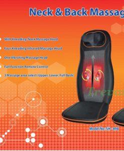 Đệm massage toàn thân Shachu SH898 7 động cơ