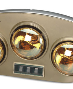 Đèn sưởi nhà tắm Kangaroo KG251 3 bóng đèn