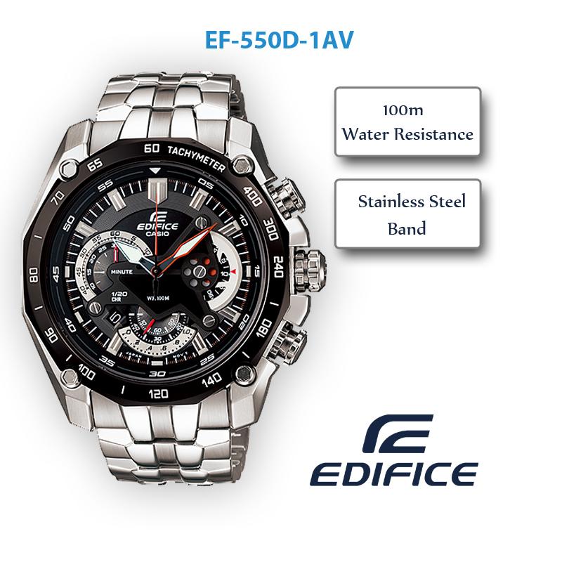 Đồng hồ Casio nam EF-550D-1A
