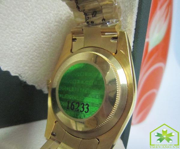 Đồng hồ Rolex nam R.503 thiết kế mặt sau trơn nhẵn