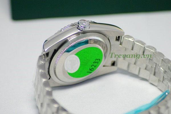 Đồng hồ Rolex nam chính hãng R.701 chi tiết mặt sau