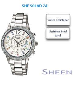 Đồng hồ Casio nữ SHE-5018D-7A