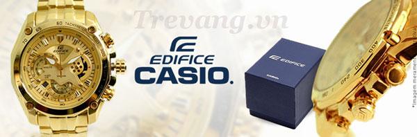 Thời trang mạnh mẽ Đồng hồ đeo tay EF-550FG-7A