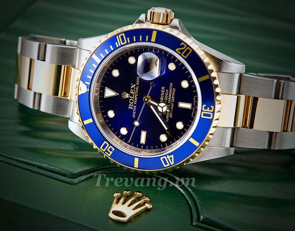 Đồng hồ Rolex nam R.1000 mặt kính Sapphire chống xước