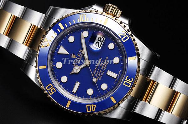 Đồng hồ Rolex nam R.1000 mặt kính sang trọng