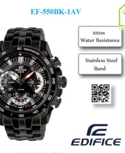 Đồng hồ nam Casio EF-550BG-1A Tachymeter