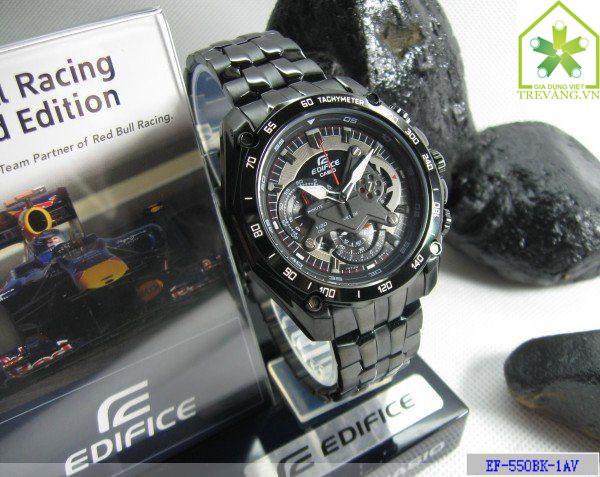 Đồng hồ nam Casio EF-550BG-1A chính hãng Japan
