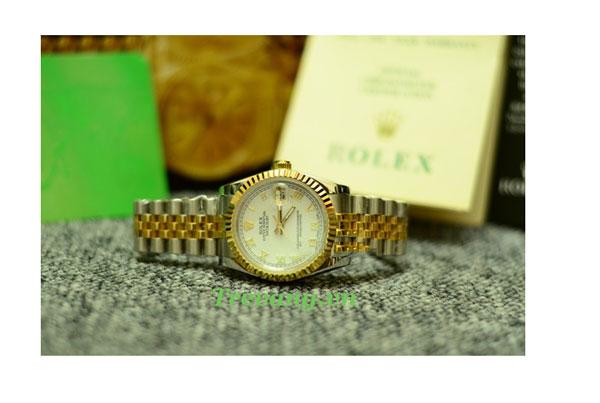 Đồng hồ nam đẹp Rolex R.601 mặt kính sapphire
