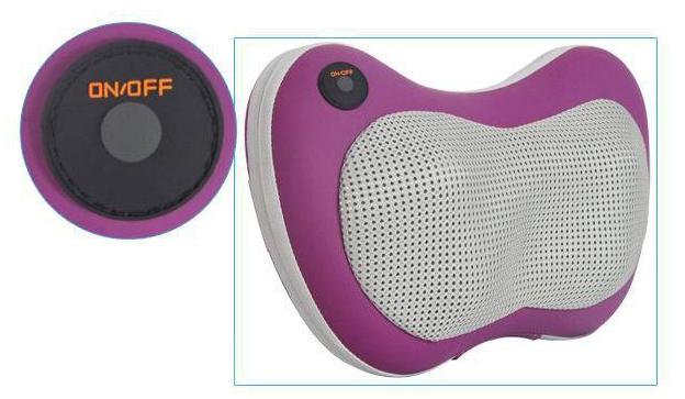 Gối massage hồng ngoại Pillow PL-819B công tác on/ off.
