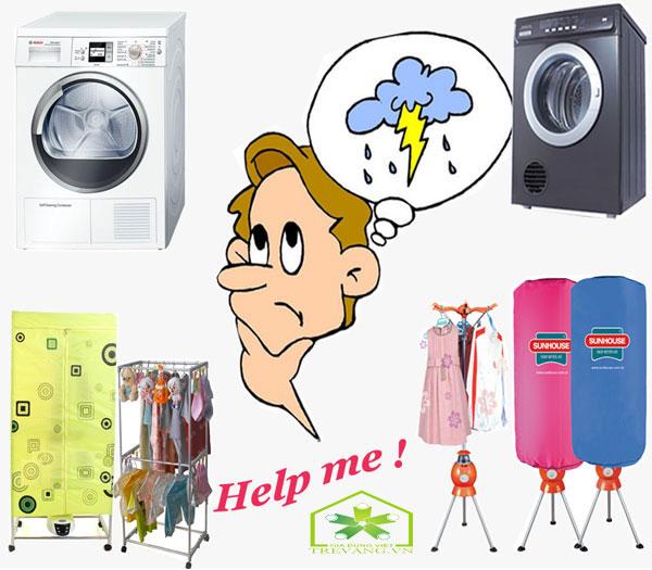 Nên chọn mua máy sấy quần áo loại nào tốt?