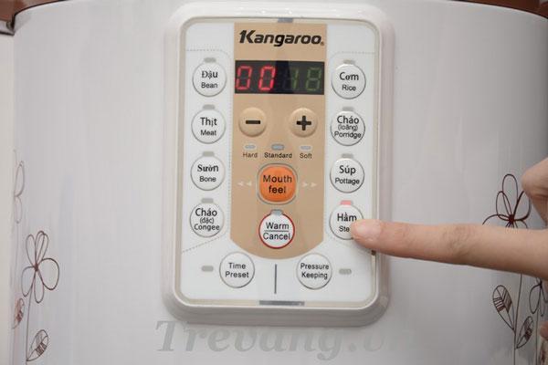 Bảng điều khiển điện tử Nồi áp suất điện Kangaroo KG138