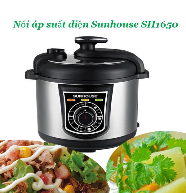 Món ngon với Nồi áp suất điện Sunhouse SHD1650