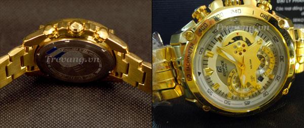 Thiết kế mặt lưng Đồng hồ đeo tay EF-550FG-7A