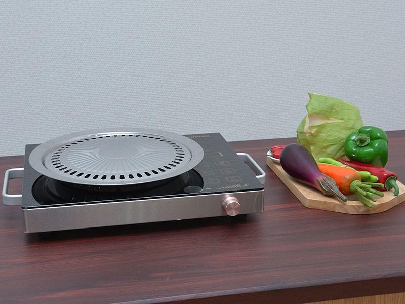 Bếp hồng ngoại Kangaroo KG470i dạng đơn nướng trực tiếp