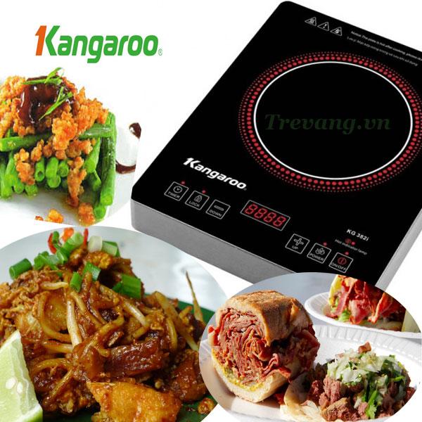 Bếp hồng ngoại Kangaroo KG382i bí kíp ăn ngon