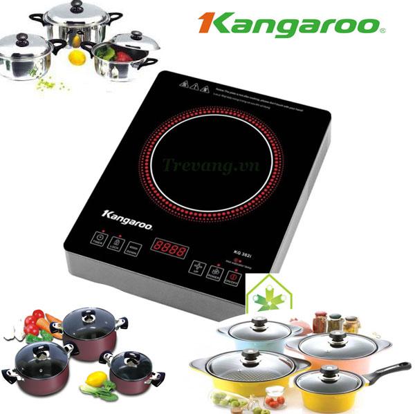 Bếp hồng ngoại Kangaroo KG382i không kén nồi