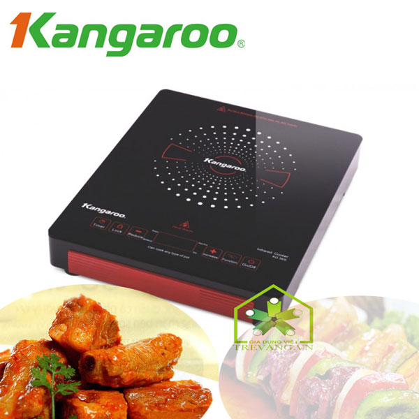 Bếp hồng ngoại Kangaroo KG383i dễ dàng thao tác