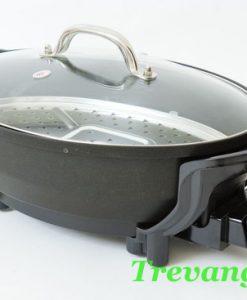 Chảo điện đa năng Magic Pan nắp kính kín