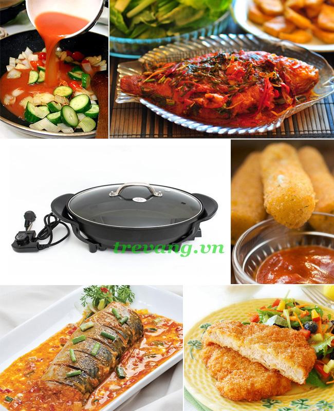 Chảo điện đa năng Magic Pan đa dạng món ăn dinh dưỡng cho gia đình