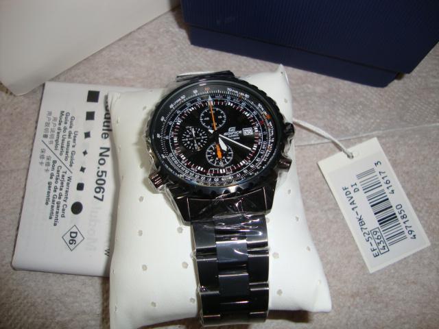Đồng hồ Casio EF-527BK 1av nguyên hộp