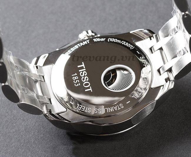 Đồng hồ Tissot 1853 T035.627.11.031.00 mặt lưng cảm nhận chuyển động