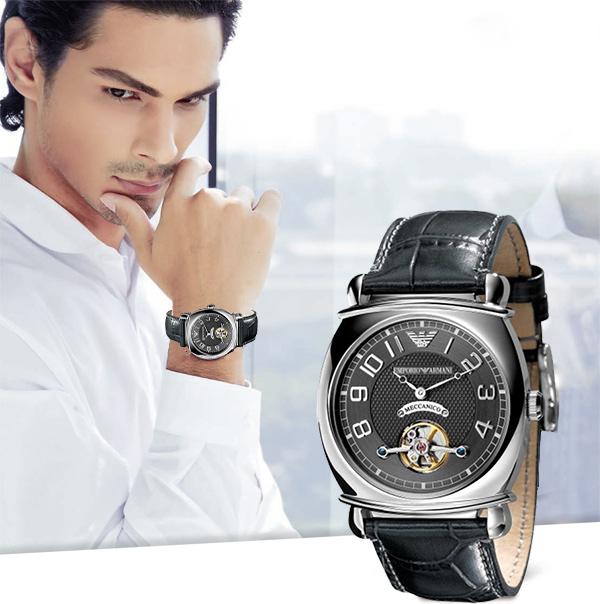 Đồng hồ Armani chính hãng AR4635 cổ điển cuốn hút