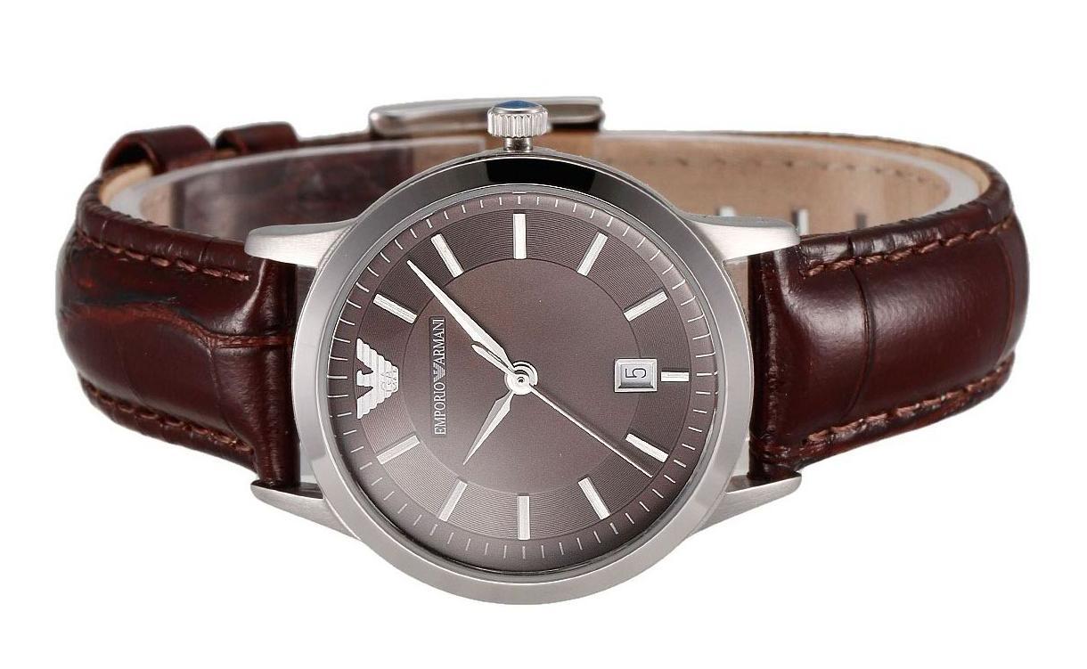 Đồng hồ chính hãng Armani AR2414 mặt kính chịu lực