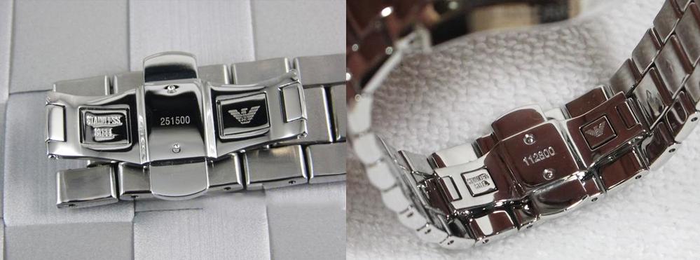 Đồng hồ Armani nữ AR0681 chính hãng dây hợp kim sáng bóng