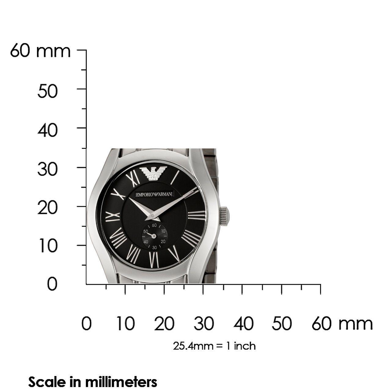 Đồng hồ Armani nữ AR0681 mặt chống xước kích thước chuẩn