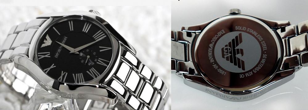 Đồng hồ Armani nữ AR0681 toàn bộ làm bằng hợp kim chống ghỉ
