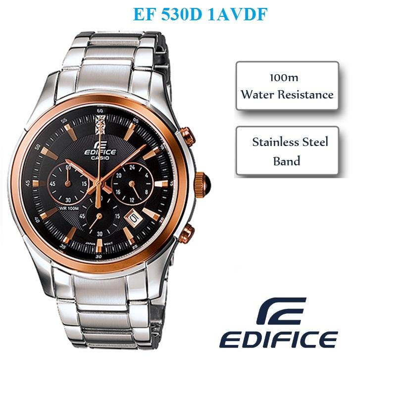 Đồng hồ nam Casio EF-530D-1A cao cấp