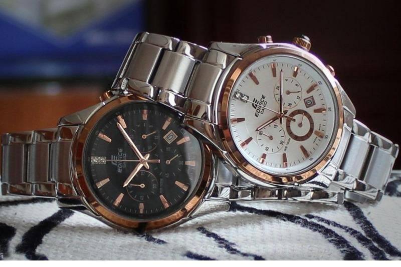 Đồng hồ nam Casio EF-530D-1A tnam chính hãng