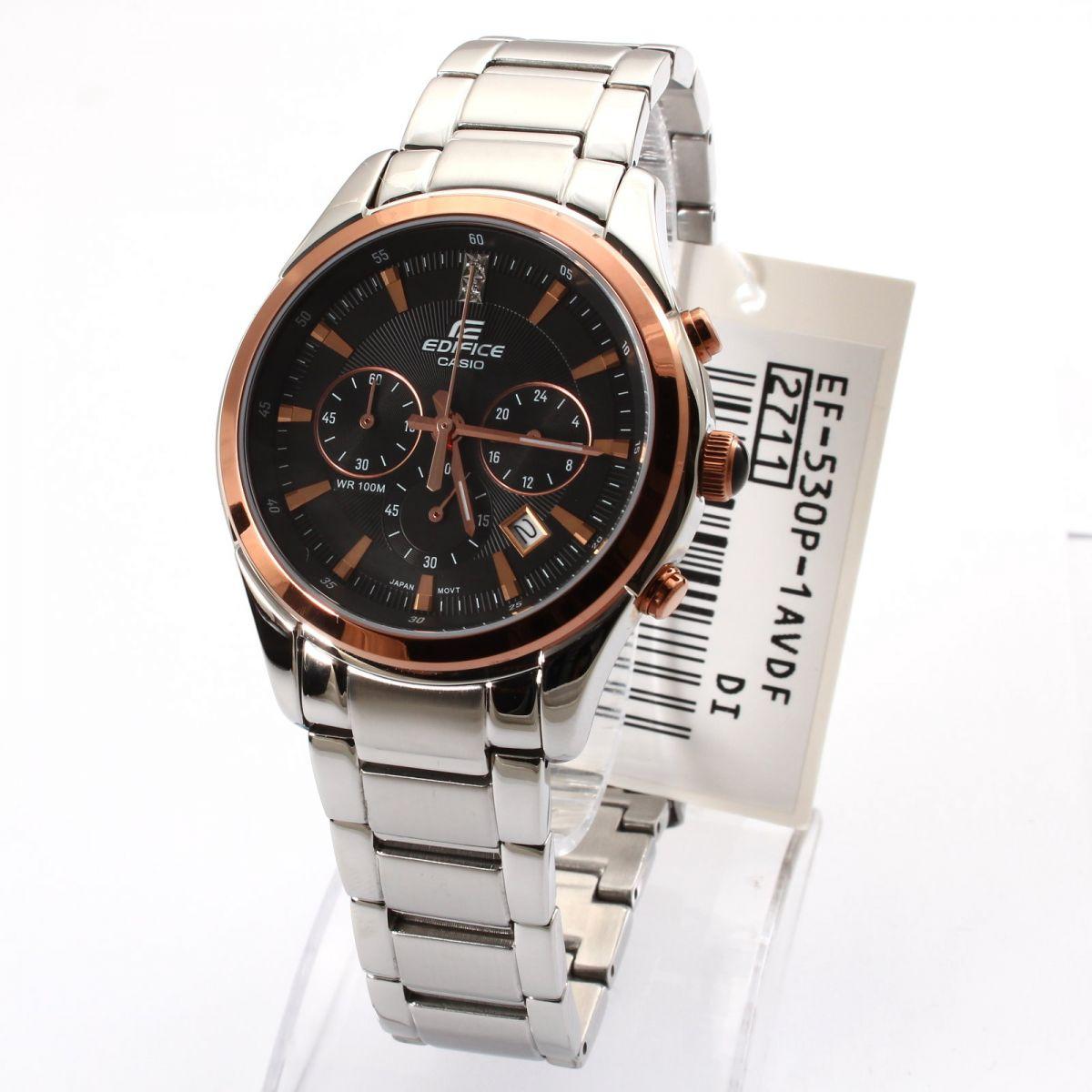 Đồng hồ nam Casio EF-530D-1A tinh tế kiểu dáng mạnh mẽ