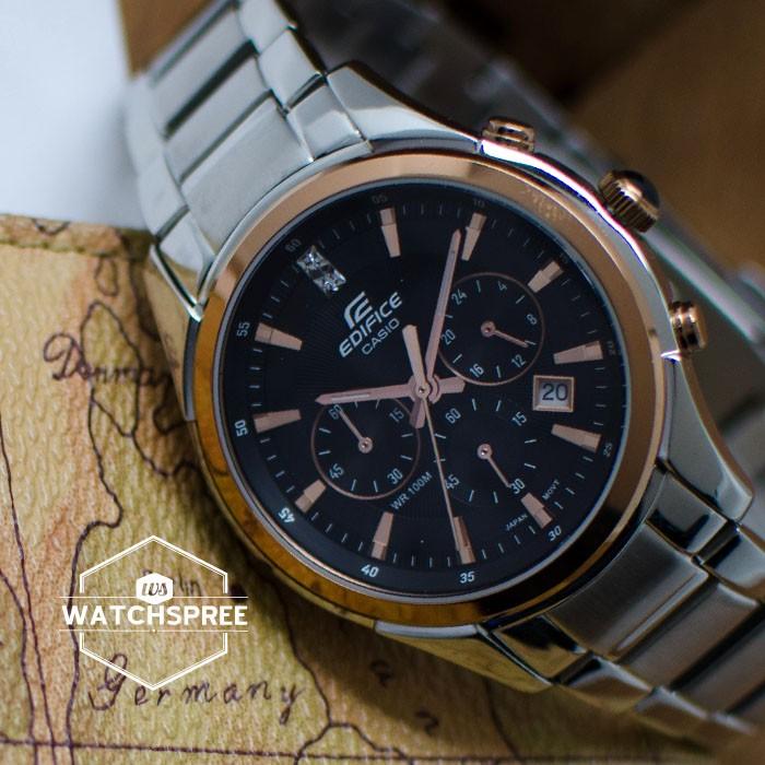 Đồng hồ nam Casio EF-530D-1A tinh tế mọi góc cạnh