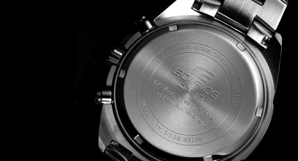 Đồng hồ Casio EFR 528RB-7A mặt sau