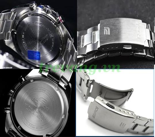 Đồng hồ Casio EFR 528RB-7A mọi góc cạnh