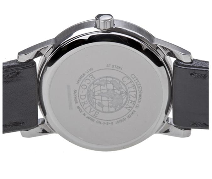 Đồng hồ Citizen EW1560-56A phía mặt lưng