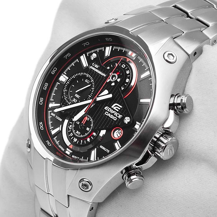 Đồng hồ nam Casio EFR-521D-1A Tachymeter với thiết kế cực kỳ năng động.